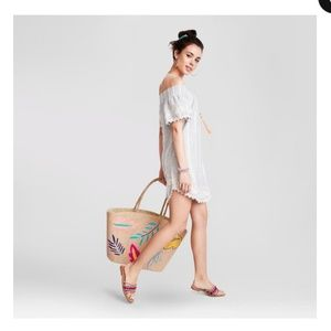 NWT Merona Linen Dress Sz S/M